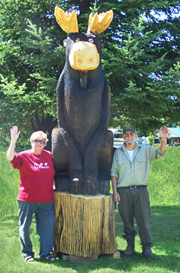 Gary and Mary Welcome You to Moose River Campground