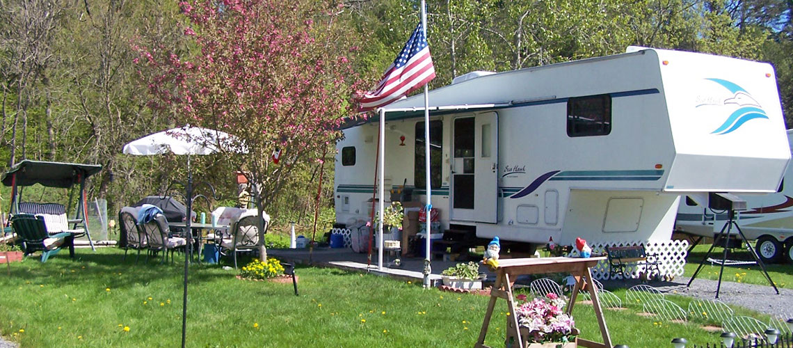 Moose River Campground RV Site