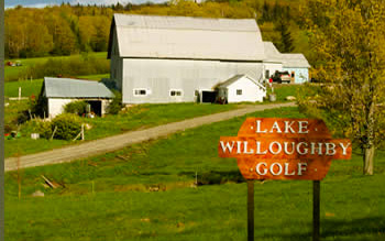 The Lake Willoughby Golf Course